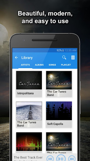 Car Tunes Music Player Beta screenshot