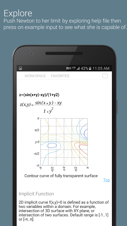 Newton Graphing Calculator Pro- screenshot