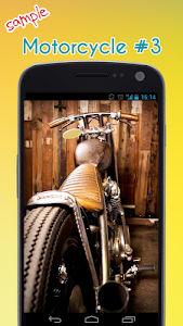 Cool Motorcycle Wallpaper screenshot 3