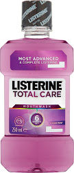 Listerine Total Care Mouthwash - Clean Mint, 250ml