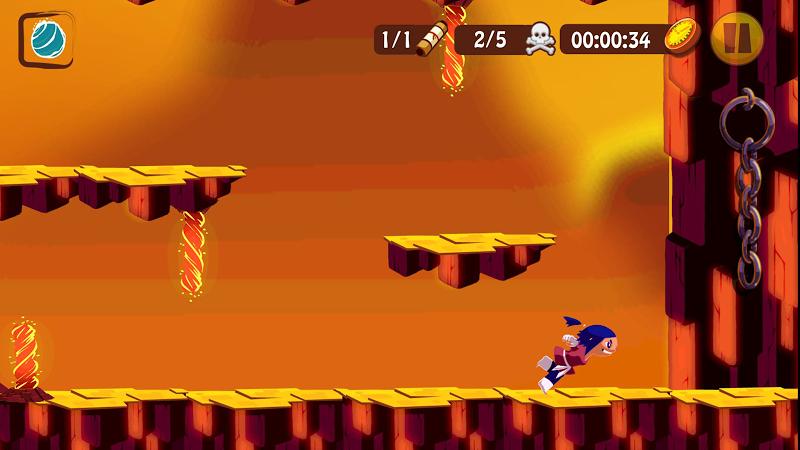 Скриншот The Slide Ninja