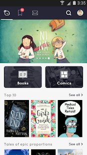 Tapas – Books, Comics, Stories- screenshot thumbnail