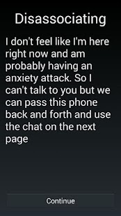 Emergency chat- screenshot thumbnail
