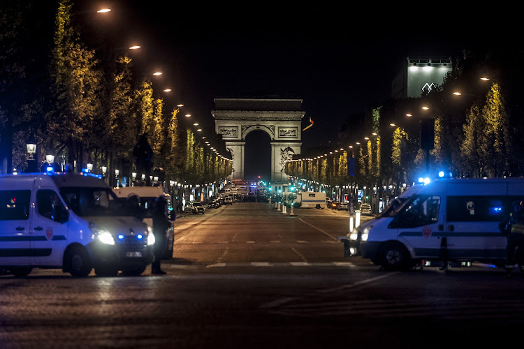 A policeman was killed on Thursday at the Champs-Elysees in Paris, and two others were seriously wounded in a shooting claimed by the Islamic State group. The author of the shots was also killed, in Paris, France on April 20, 2017. Picture: GETTY IMAGES
