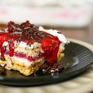 Cherry Pie Ice Box Cake.