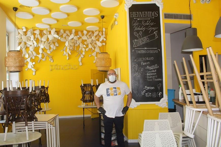 Cafetería La Chumbera, ubicado en calle Jovellanos esquina calle Tiendas. Abrirá en próximos días.
