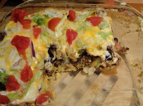Taco Corn Bread Casserole Recipe