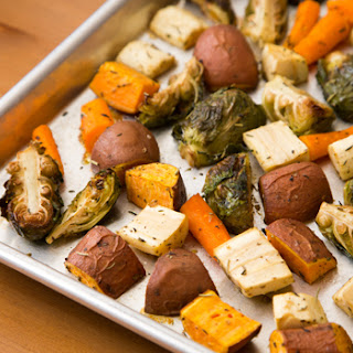 Roasted Root Vegetables With Brussel Sprouts Recipes.