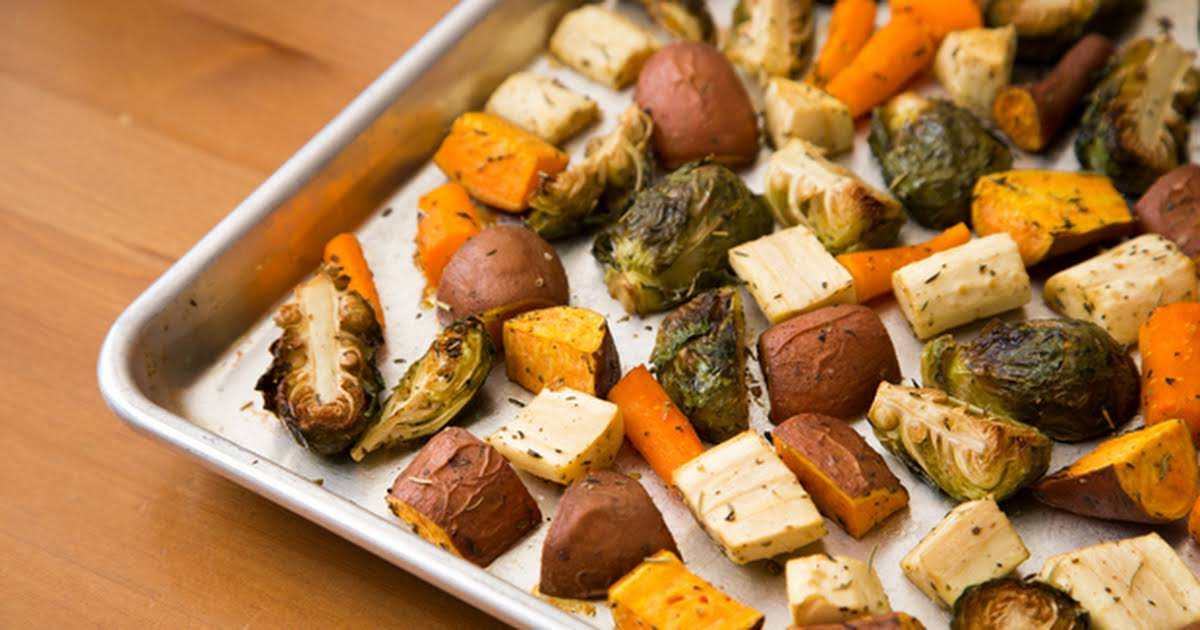 10 Best Roasted Root Vegetables With Brussel Sprouts Recipes