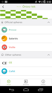 Whaller - Create your private social networks- screenshot thumbnail