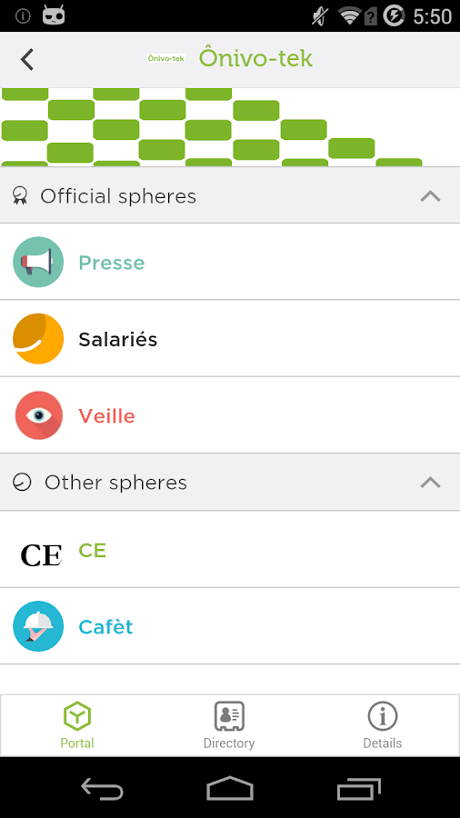 Whaller - Create your private social networks- screenshot