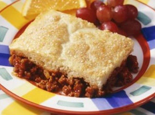 Sloppy Joe Pie Recipe