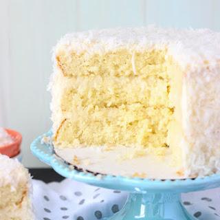 Coconut Custard Cake and Blog N Bake Retreat