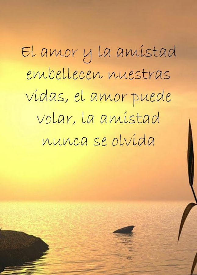 Quotes About Friendship In Spanish Prepossessing Friendship Quotes In Spanish  Android Apps On Google Play