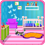 Baby Room Cleanup Games