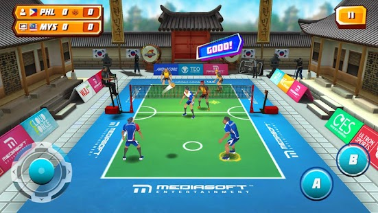 Roll Spike Sepak Takraw Screenshot