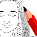 Drawfy : Dot to Dot Coloring icon