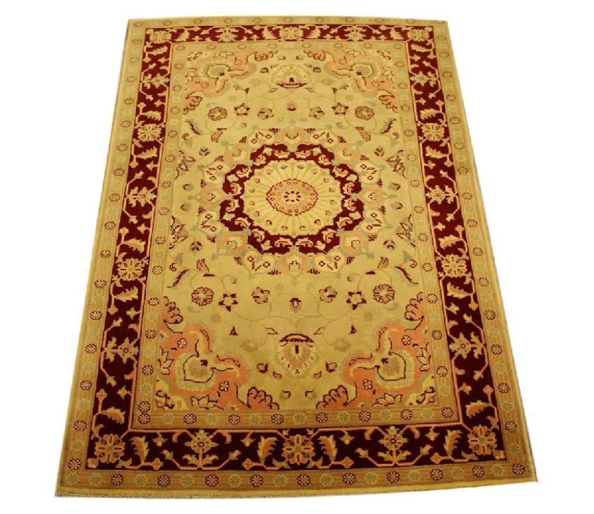 dywan ziegler farahan tradycyjny kolorowy orientalny ręcznie tkany z pakistanu 120x180cm