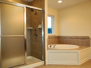 Photo: Master bathroom in the SAXON GRAND