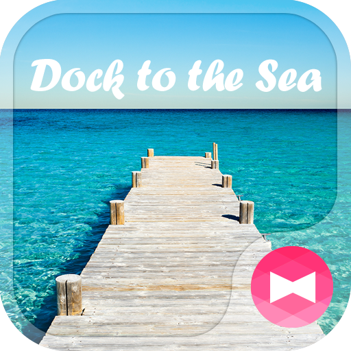 Beautiful Wallpaper Dock to the Sea Theme Icon
