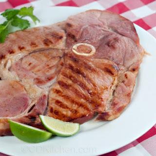 Cajun Ham Steak