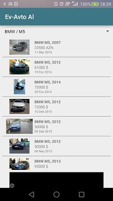 Ev-Avto Al (bina.az/turbo.az) - screenshot