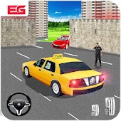 Modern City Taxi Cab Driver Simulator Game 2017