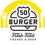 Logo for Fifty Burger