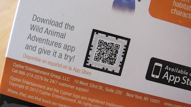 Photo: Download the app in the iTunes store, or use the easy QR code on the box.