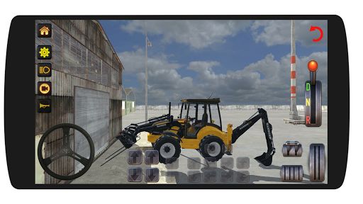 Excavator Loader Realistic Simulation screenshots 1
