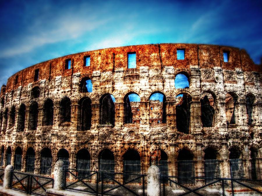 Colosseum Rome Italy by Manuela Dedić - Buildings & Architecture Public & Historical ( landmark, colosseum, rome, artistic, travel, architecture, antic,  )
