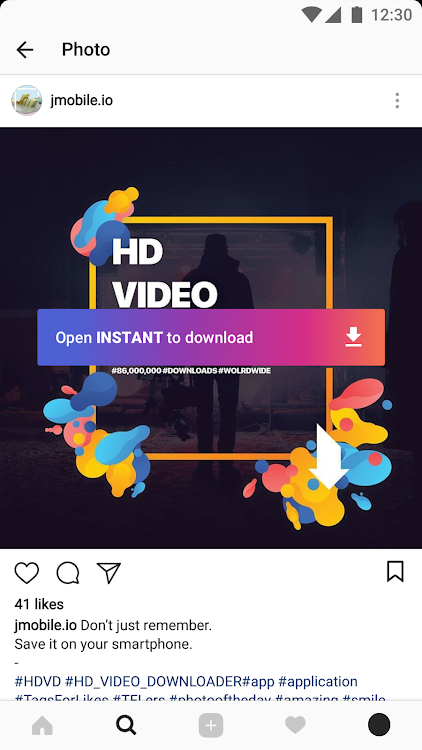 Video Downloader for Instagram – (Android Applications) — AppAgg