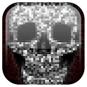 Halloween Pixel! Skull Live WP icon