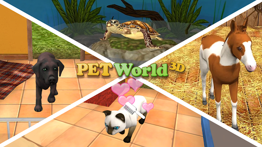 Pet World - My animal shelter - take care of them  screenshots 1