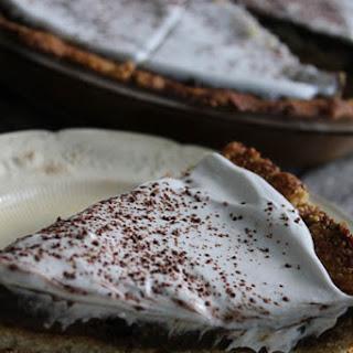 Paleo Vanilla Chocolate Pudding Pie