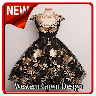 Western Gown Design - náhled