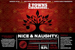 2 Towns Ciderhouse - Nice & Naughty