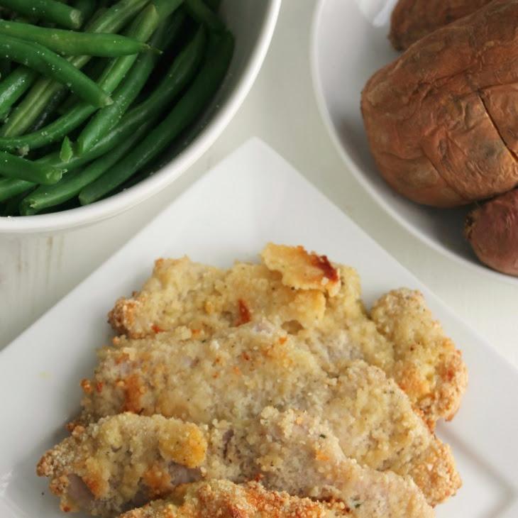 Almond Breaded Pork Chops Recipe