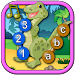 Kids Dinosaur Join the Dots icon