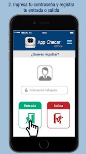 App Checar Office - náhled