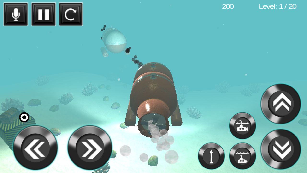 submarine torpedo war 3D- screenshot