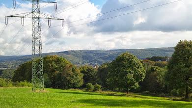 Photo: Blick von oberhalb des Krebsberges (Richtung ,Im Kuckuck') über den Kuhlerkamp hinweg zum Wehringhauser Bachtal.