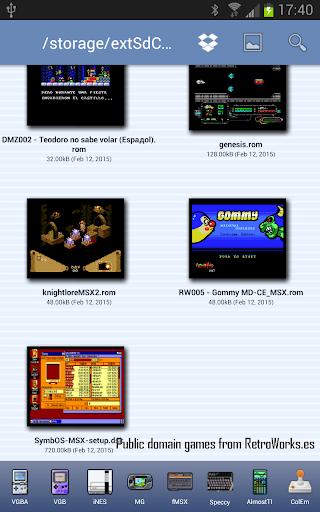 fMSX - Free MSX Emulator by Garage Research Emulators
