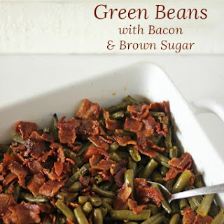Old Fashioned Green Beans with Bacon.
