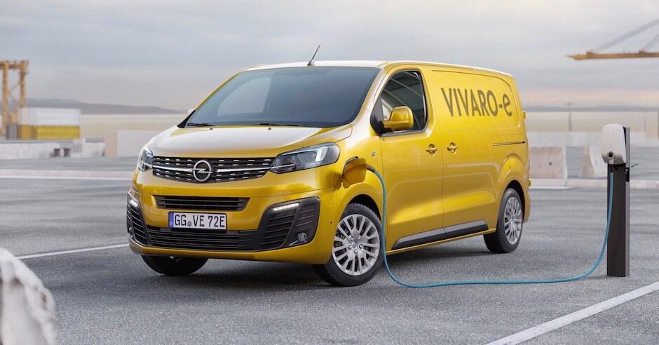 elektrische bestelwagen Opel Vivaro