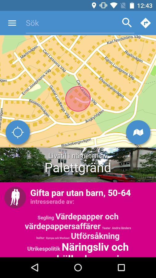 Hitta.se- screenshot