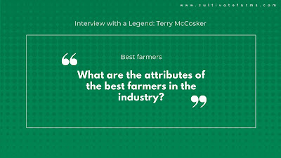 What are the attributes of the best farmers in the industry?