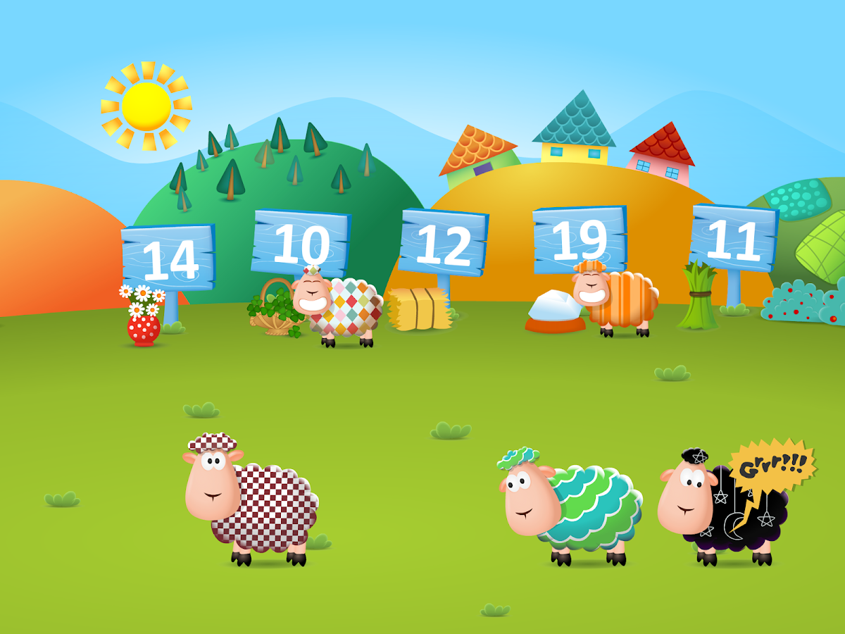 123 Numbers and Sheep- screenshot