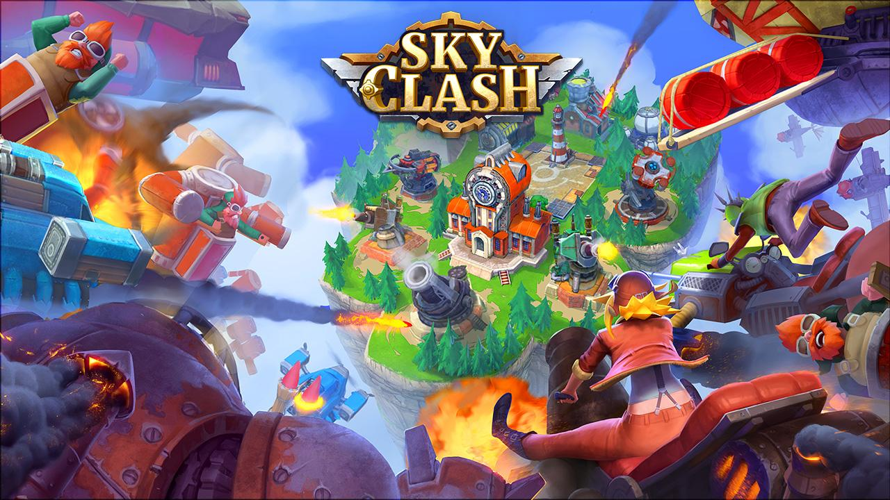 Sky Clash: Lords of Clans 3D – Screenshot