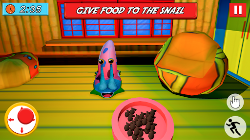 SPONGE FAMILY NEIGHBOR 2: SQUID ESCAPE 3D GAME androidiapk screenshots 1